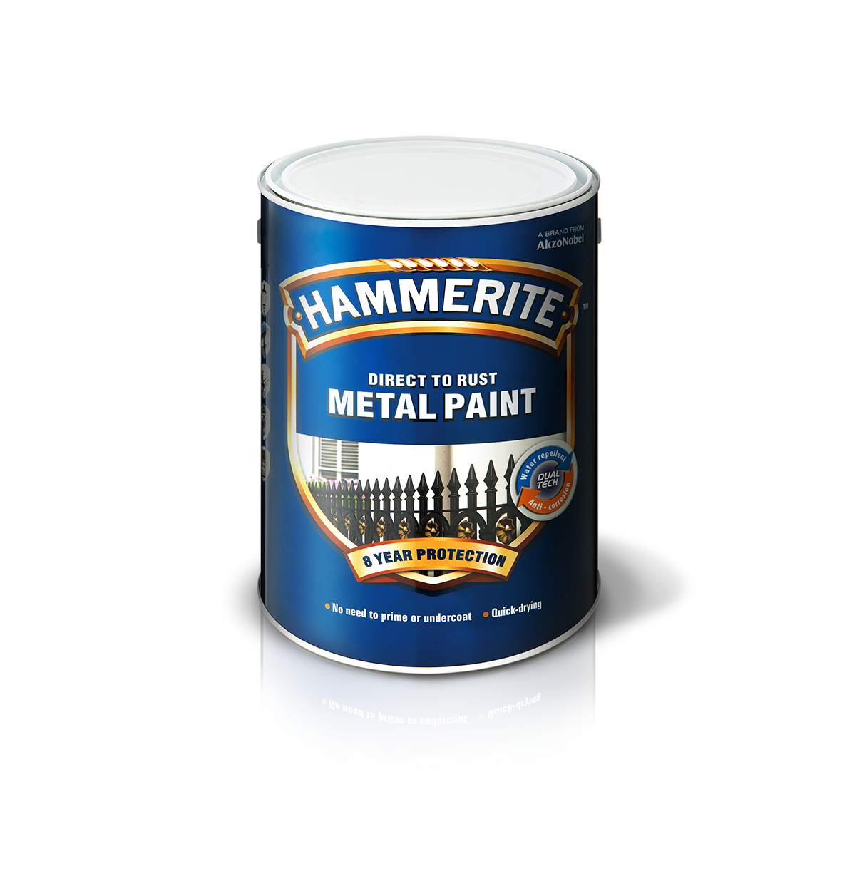Hammerite direct to rust - Smooth Finish | Dulux Trade ...