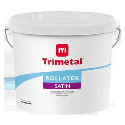 Rollatex satin trimetal for Peinture plafond satin